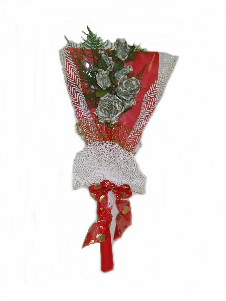 Profruit Shop Money Flower Bouquet Money Cake Quinsanera