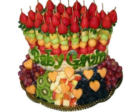 Profruit Shop Edible Sculptures Moneyflower Bouquet Fruit